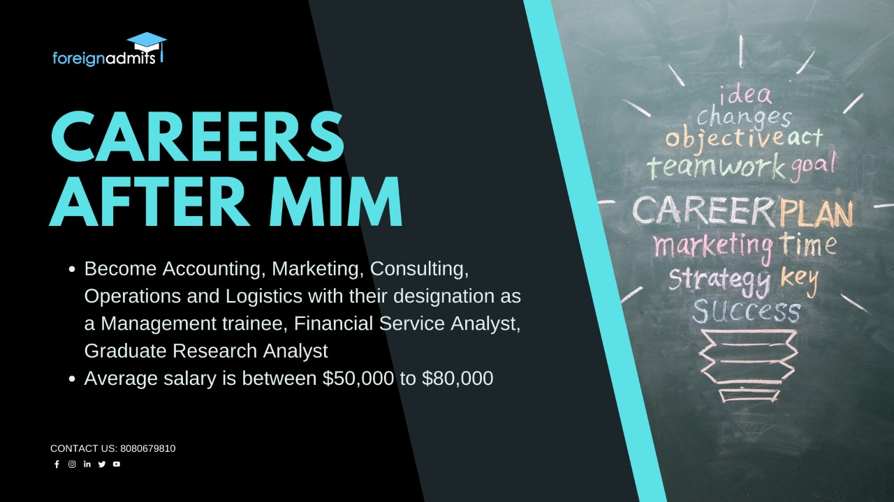 careers after MIM