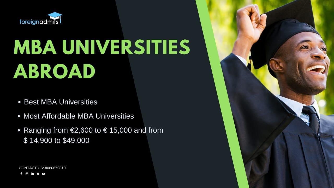 MBA universities Abroad
