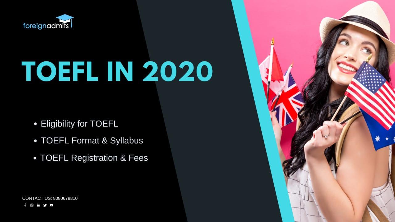 TOEFL in 2020