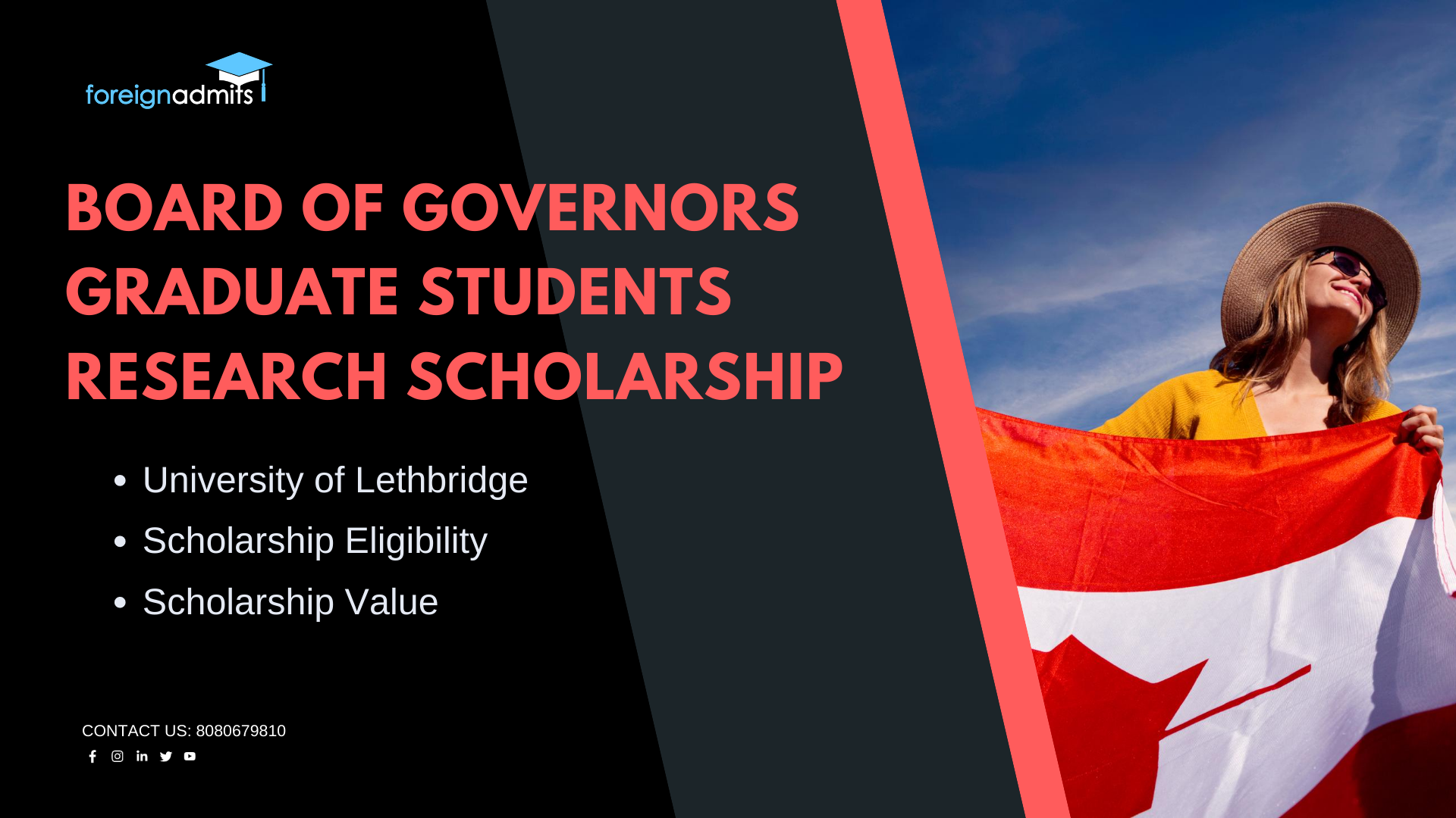 Board of Governors Graduate Students Research Scholarship