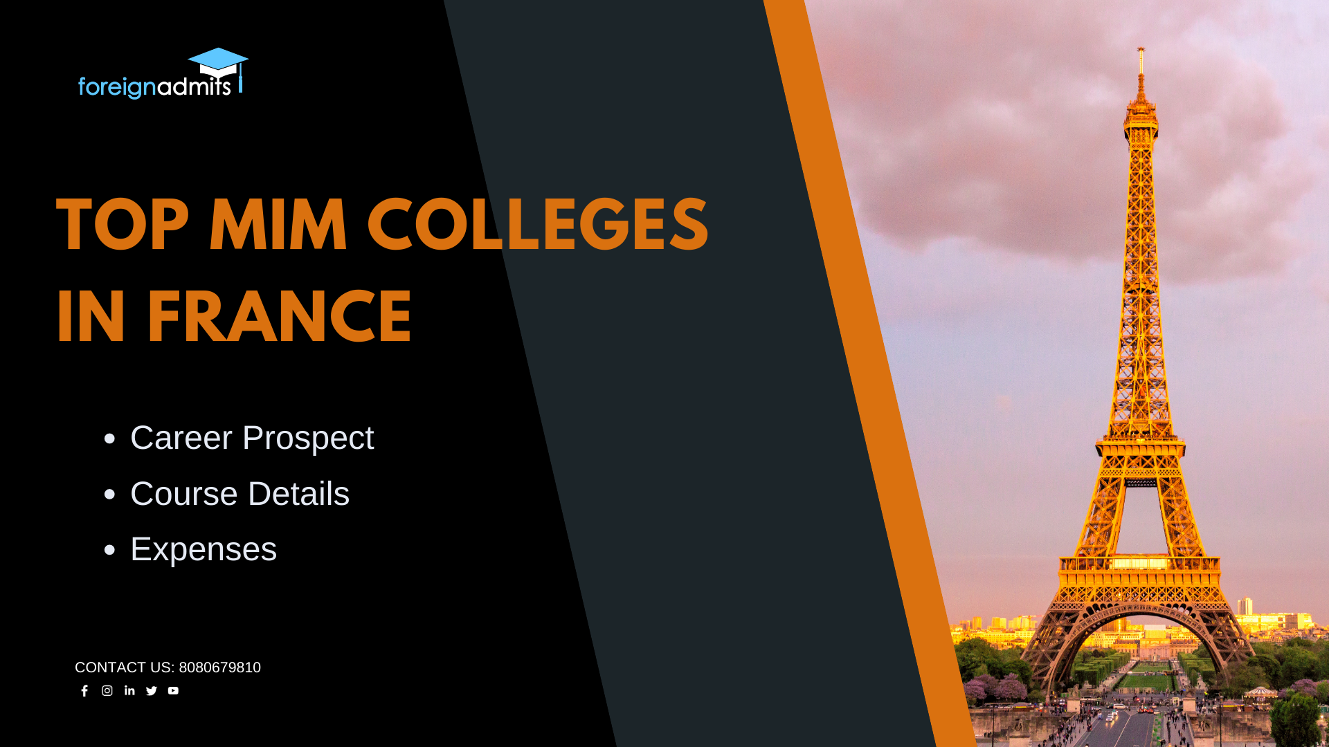 Top mim colleges in France