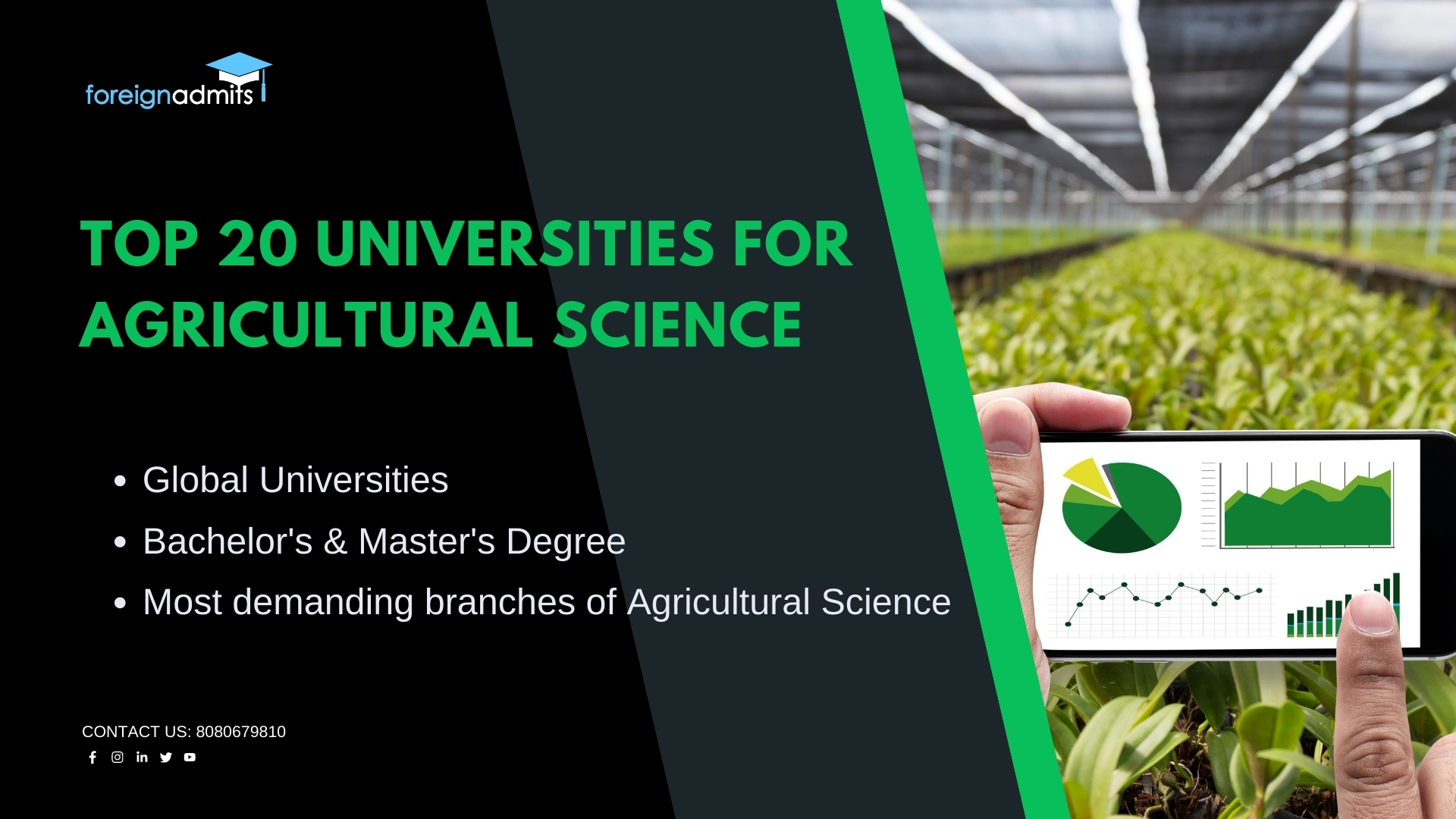 Top 20 Universities For Agricultural Science