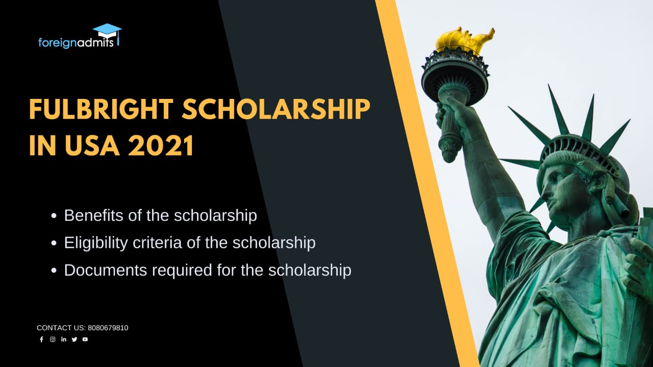 Fulbright Scholarship in USA 2021