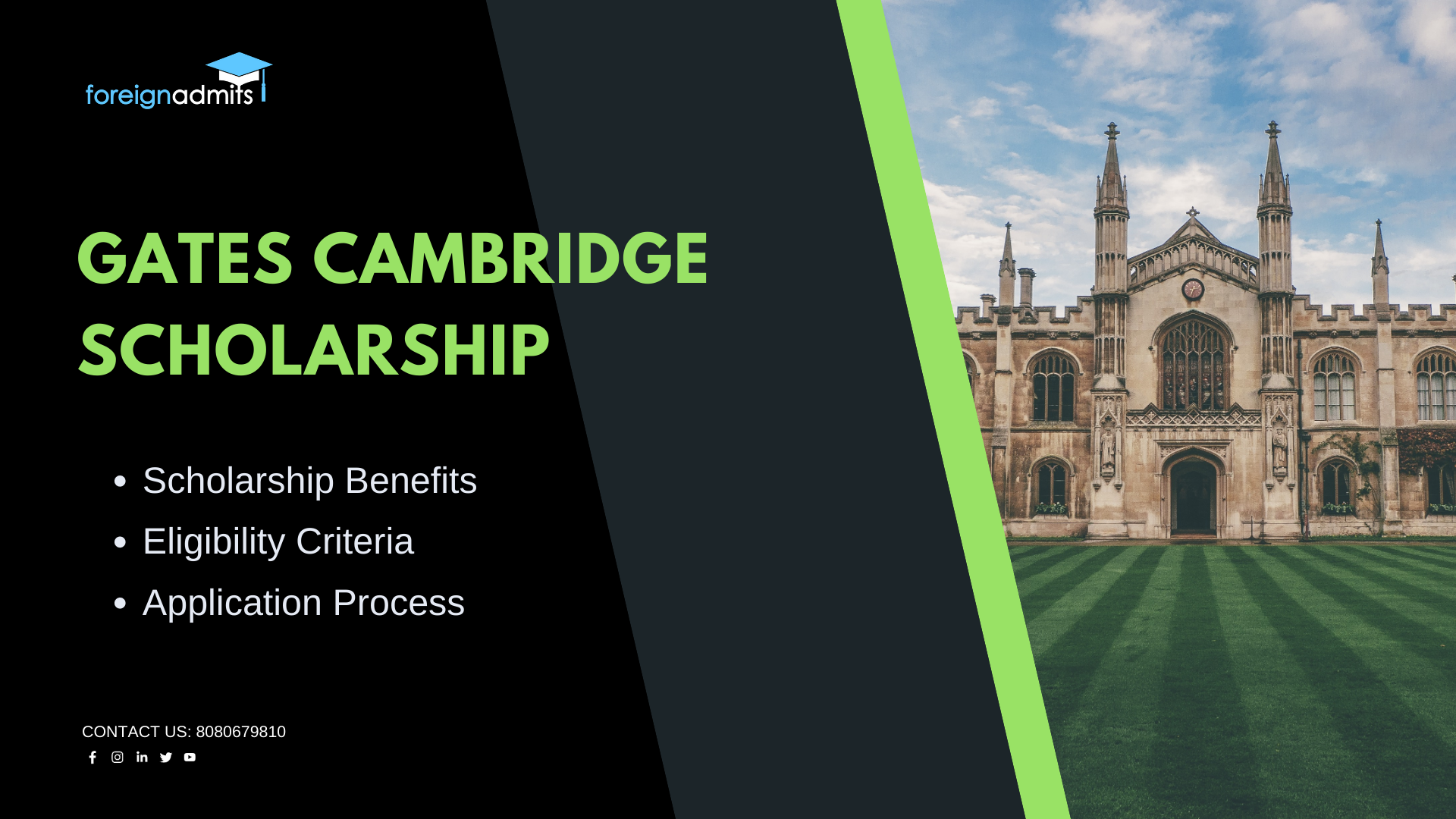 Gates Cambridge Scholarship