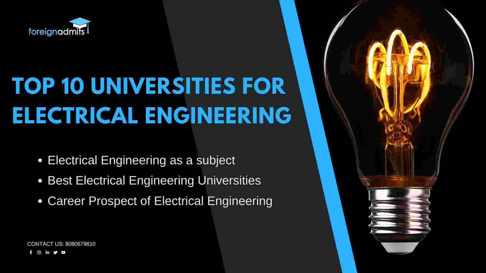Universities for electrical engineering