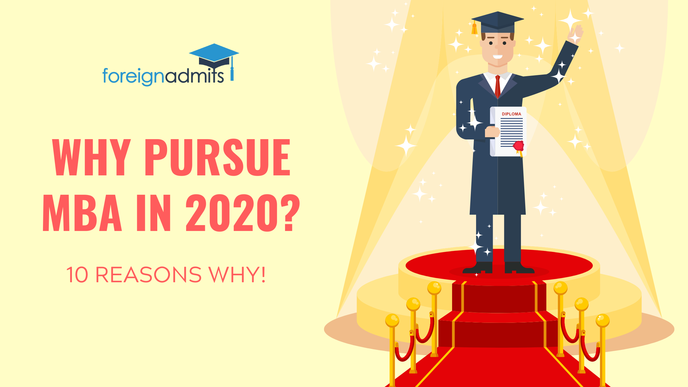 Why pursue MBA in 2020