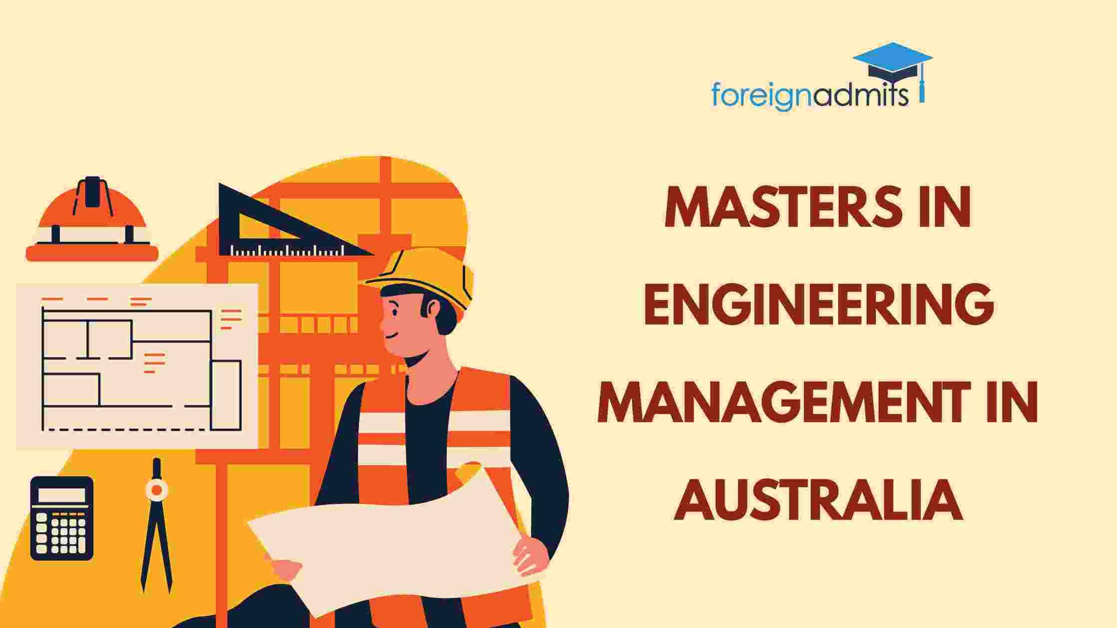 Masters in Engineering Management in Australia