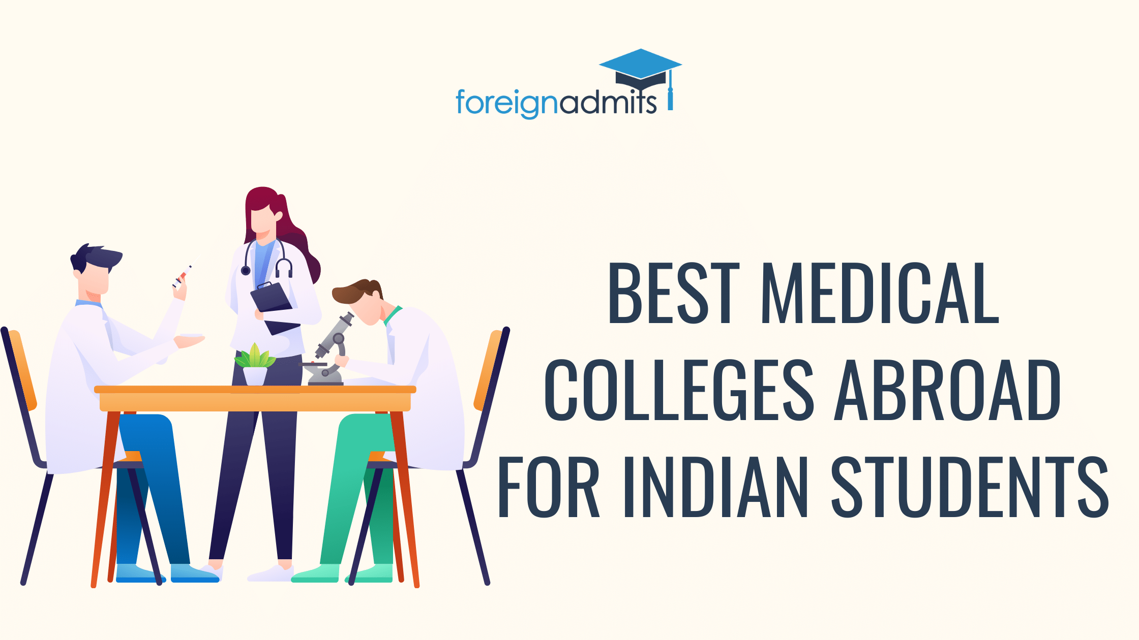 Best Medical Colleges Abroad for Indian Students
