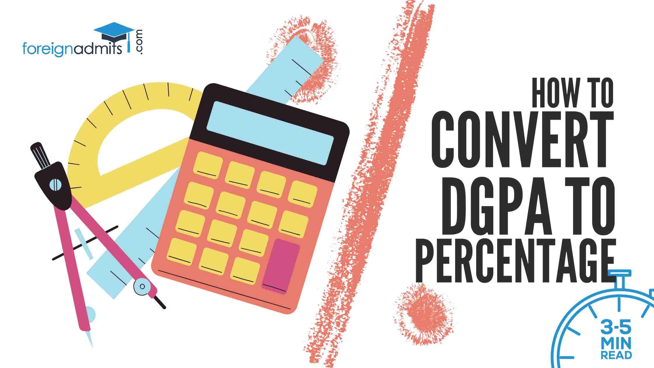 DGPA to Percentage