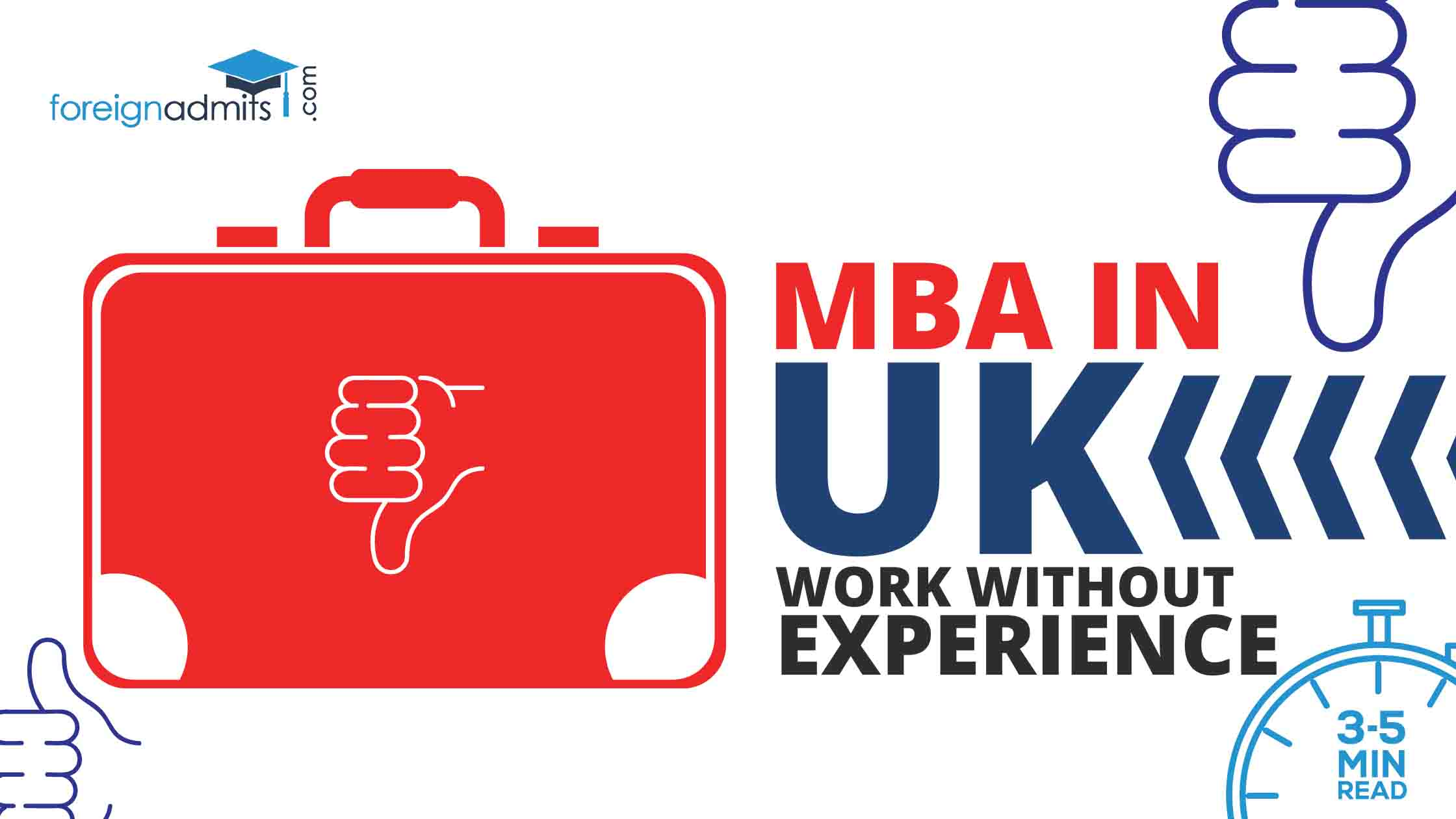 MBA in UK without Work Experience