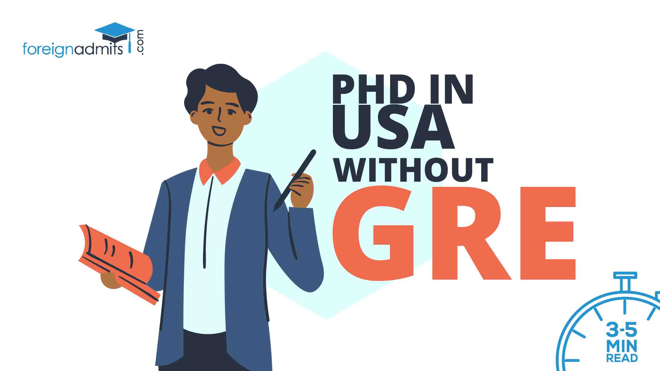 PhD in USA without GRE