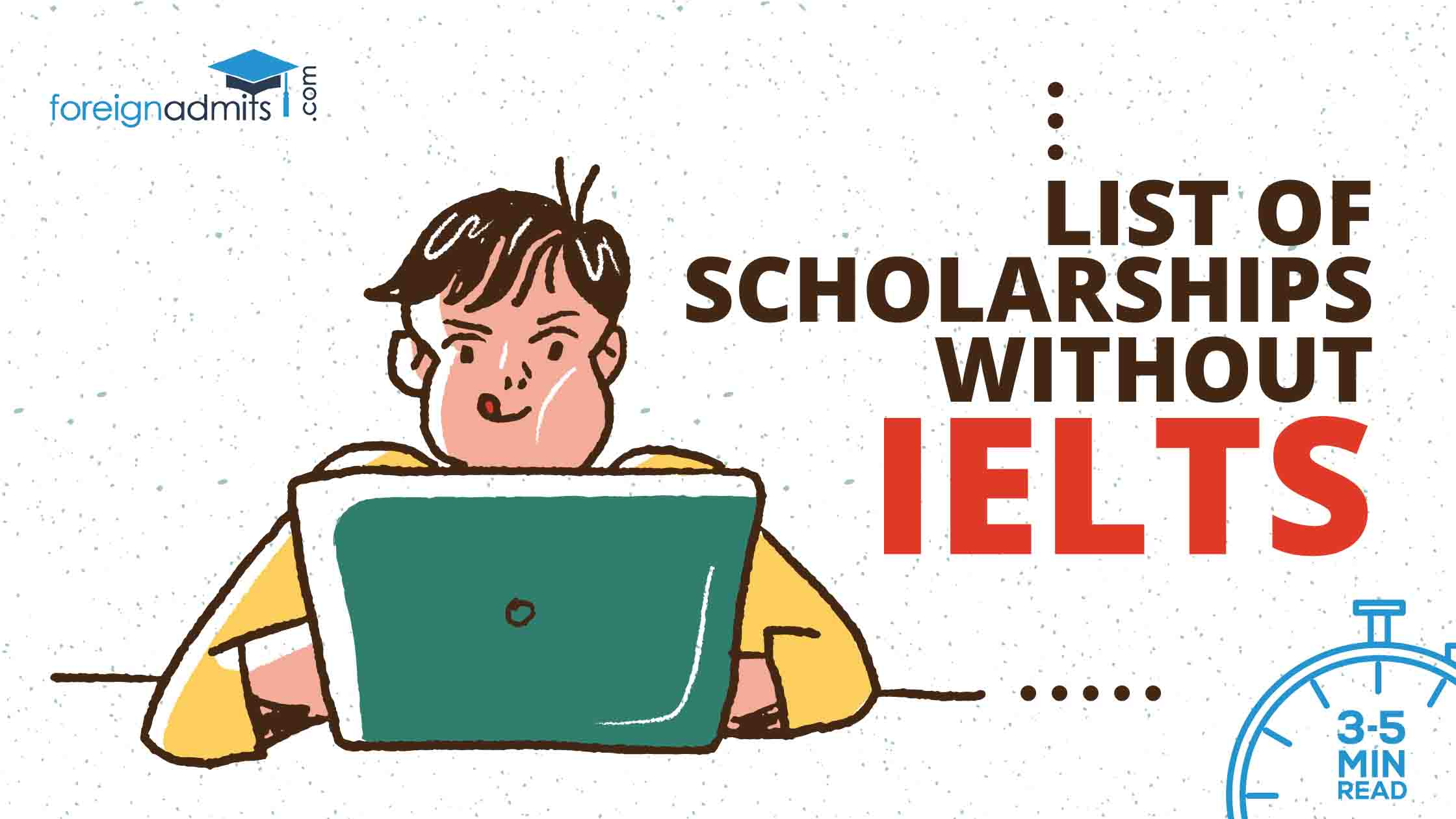 Scholarships without IELTS