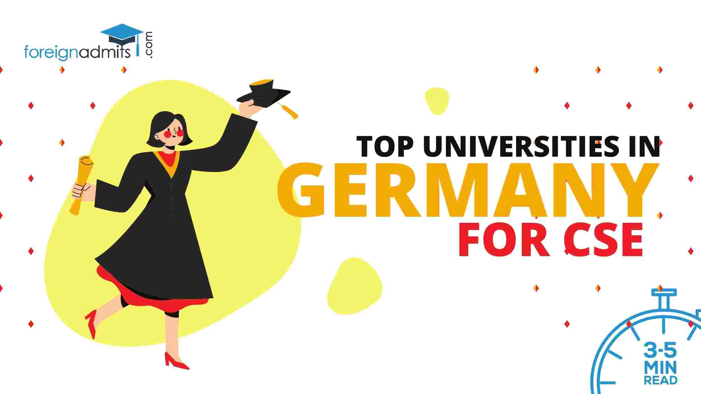 Top Universities In Germany For CSE