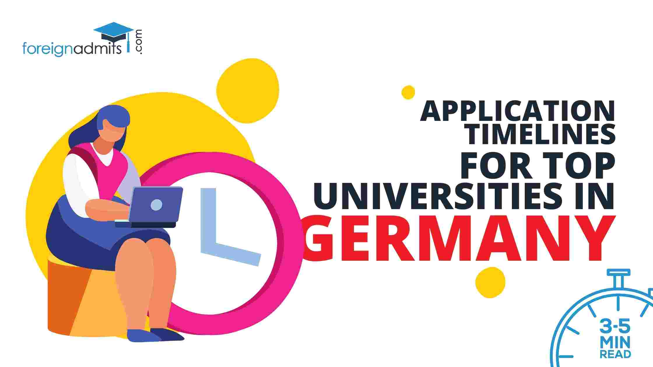 Application Timelines for Top Universities in Germany