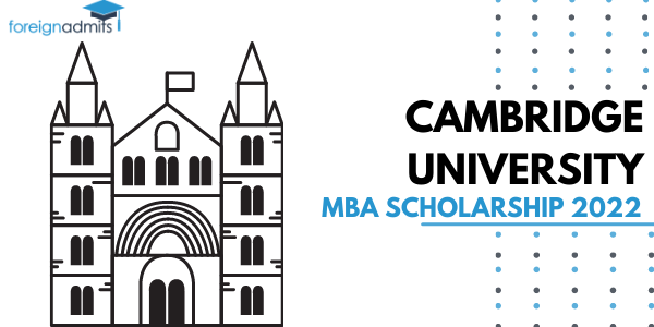 Cambridge University MBA Scholarship 2022