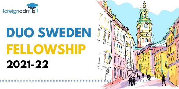 DUO SWEDEN FELLOWSHIP 2021-2022