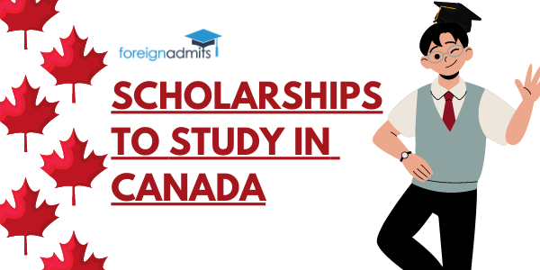 SCHOLARSHIP TO STUDY IN CANADA