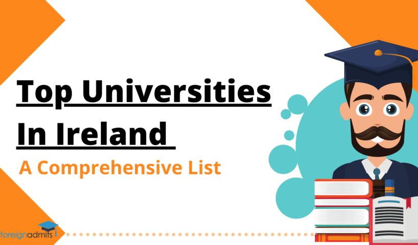 Top Universities in Ireland A Comprehensive List