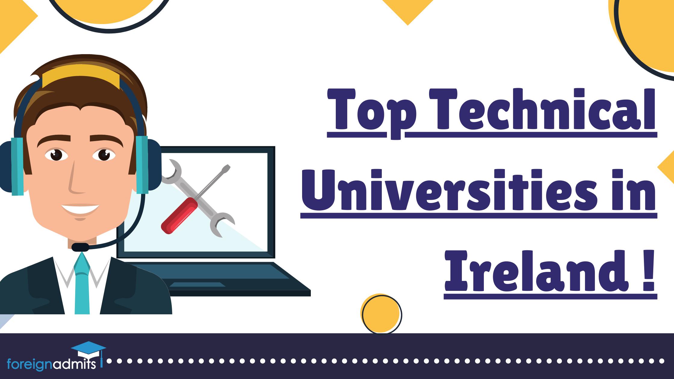 Top Technical Universities in Ireland