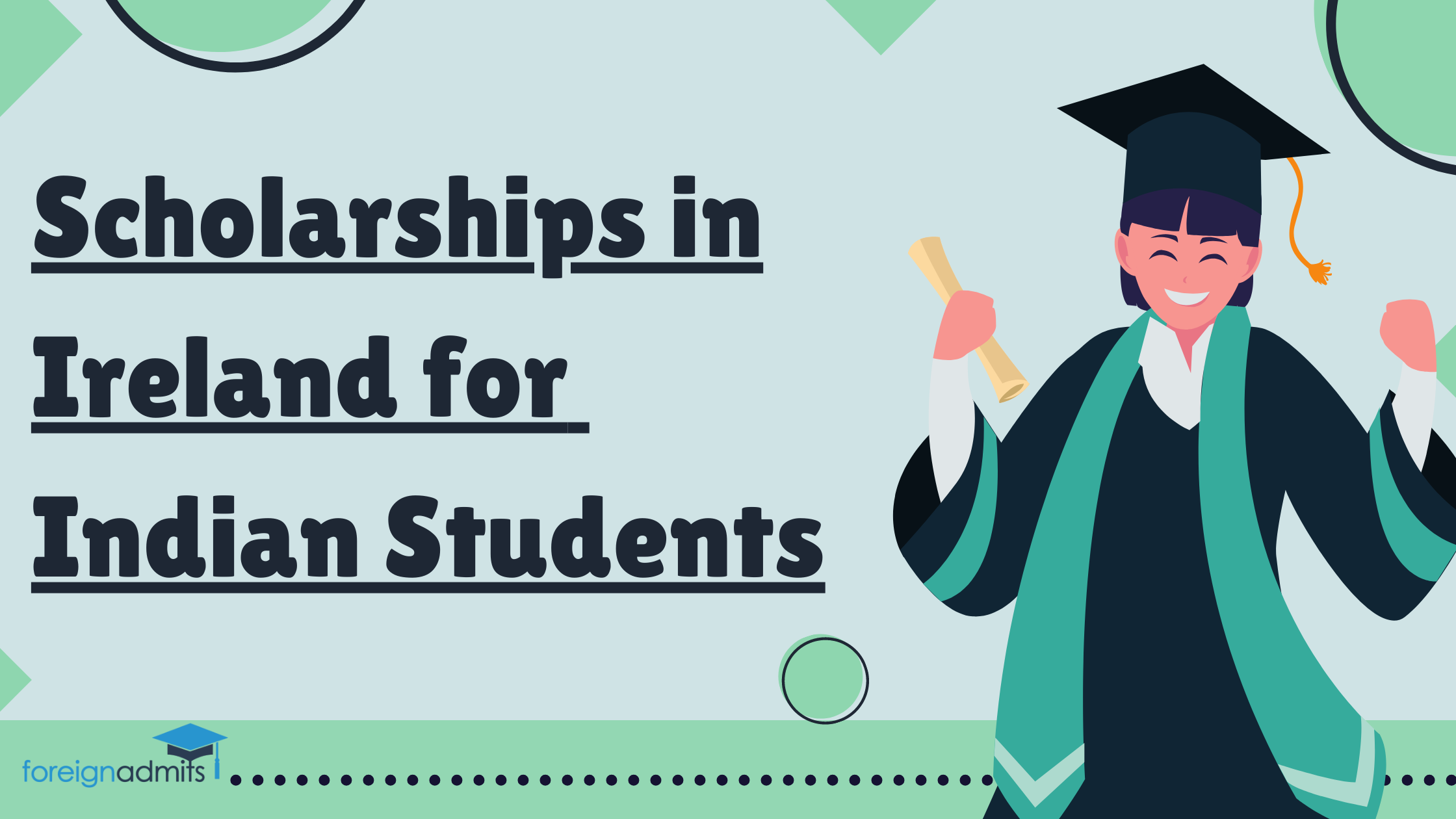 Scholarships in Ireland for Indian Students