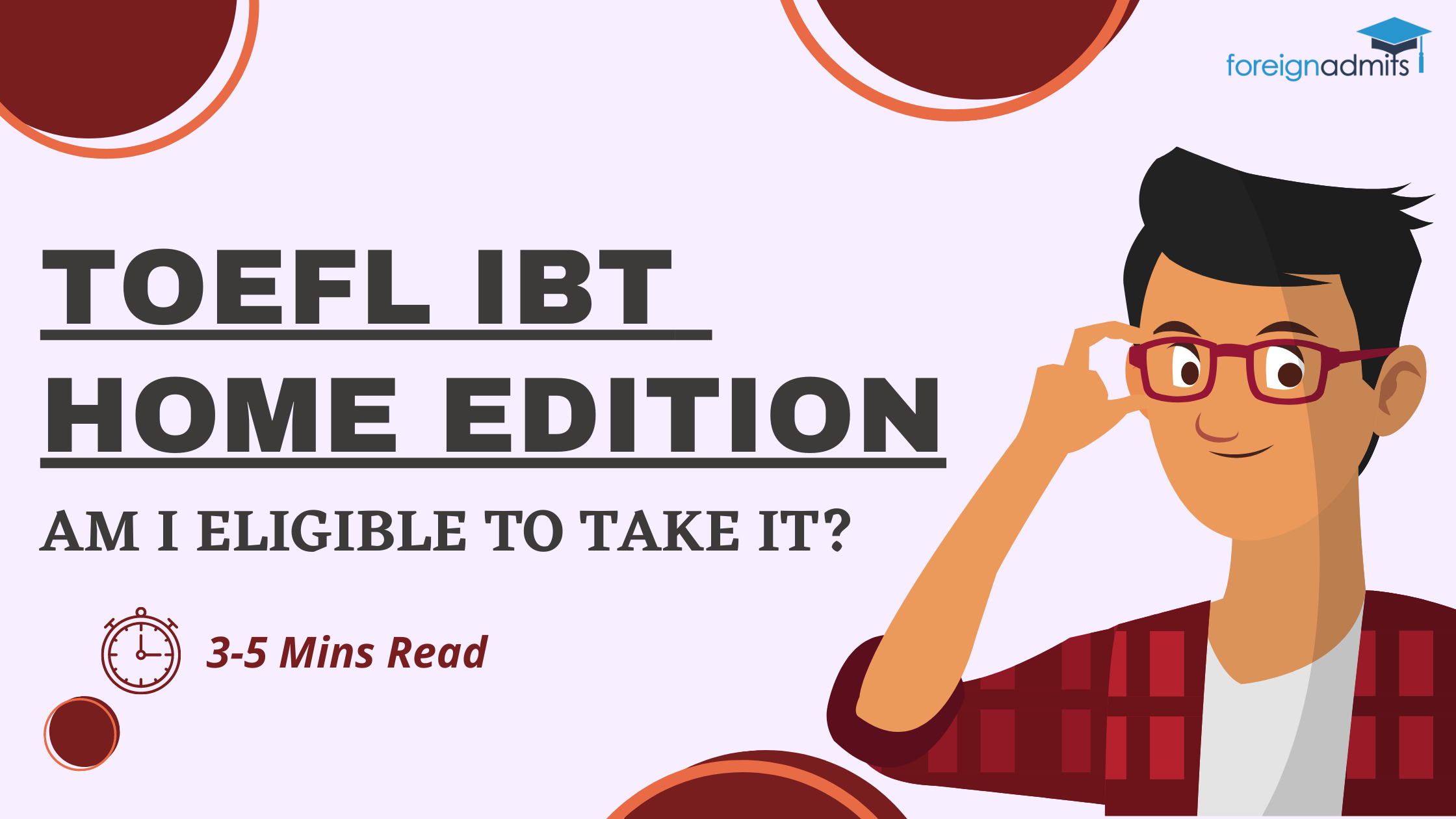 Am I Eligible to Take the TOEFL iBT® Home Edition?